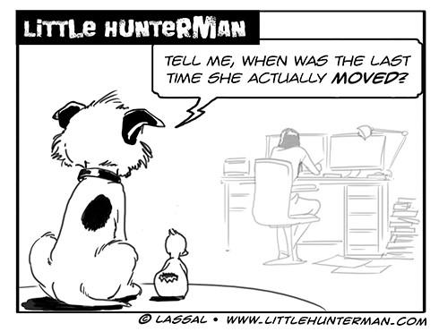 Little Hunterman Daily Cartoons 2013-10-20