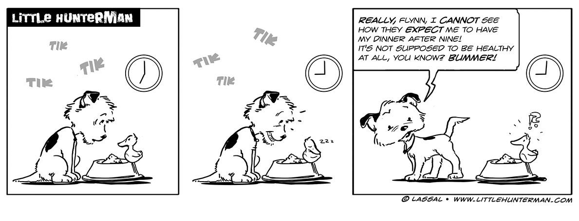 Little Hunterman Daily Cartoons 2013-10-28