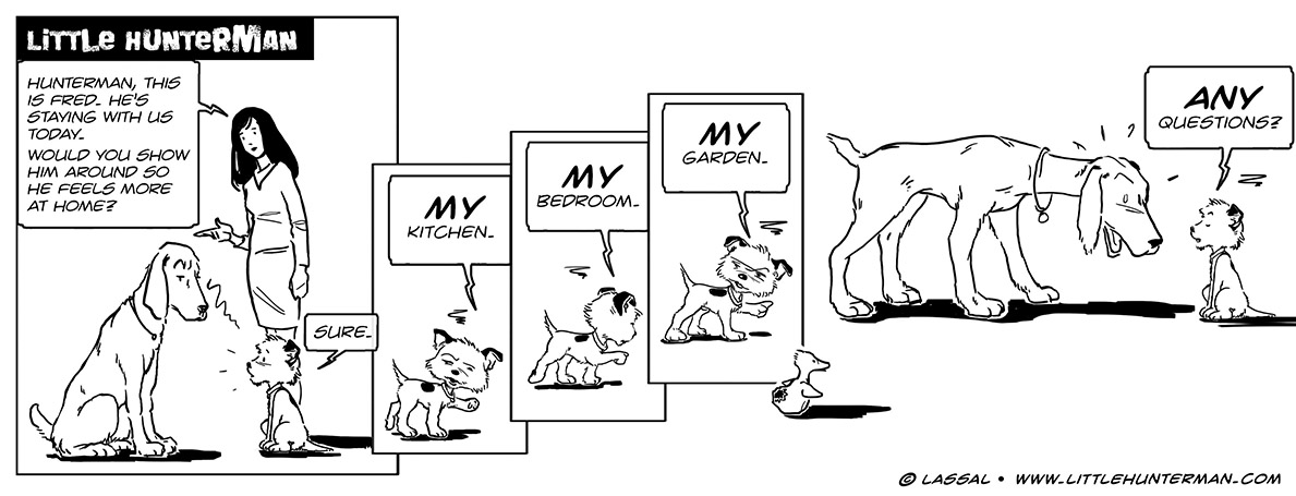 Little Hunterman Daily Cartoons 2013-10-29