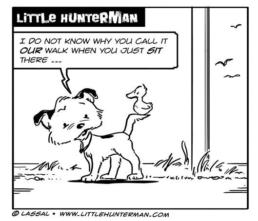 Little Hunterman Daily Cartoons 2013-10-30