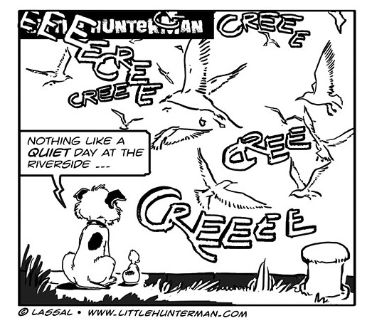Little Hunterman Daily Cartoons 2013-11-01