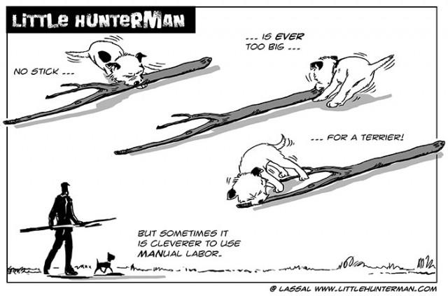 Little Hunterman - manual labor