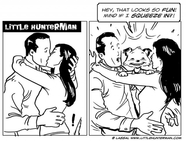 Little Hunterman - Mind if I squeeze in?