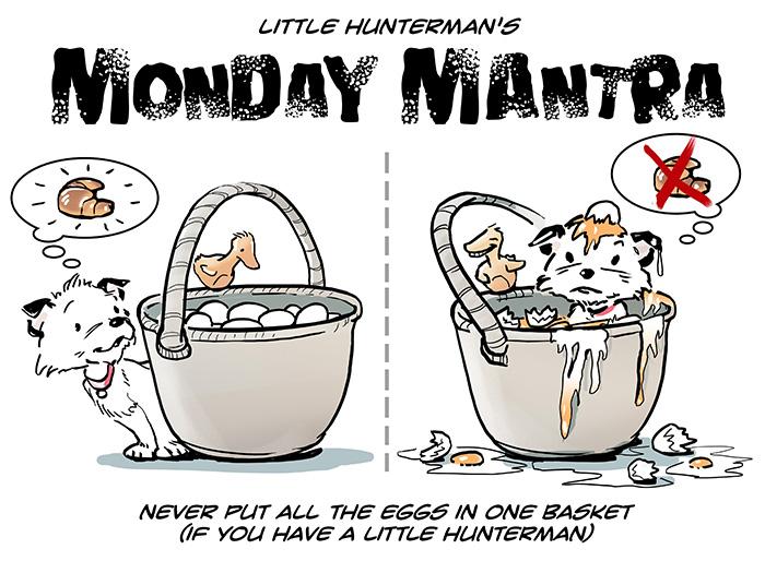 Little Hunterman - easter monday mantra