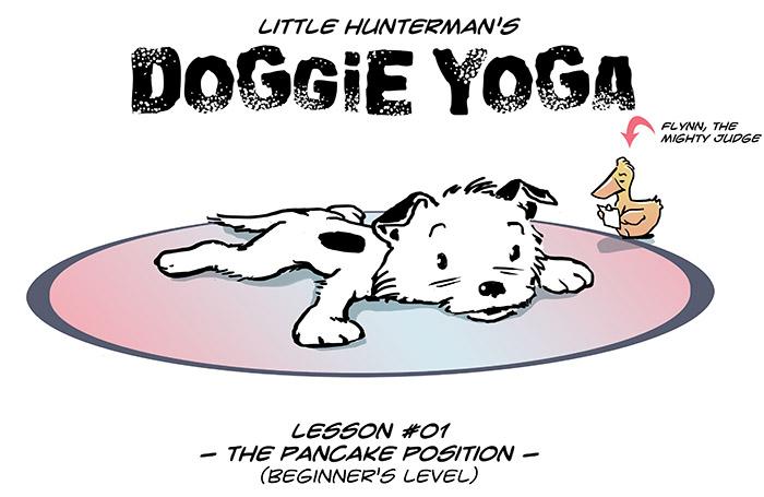 Doggie Yoga #01 – The Pancake Postion
