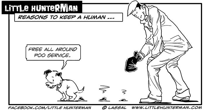 Little Hunterman - Free Poo Service
