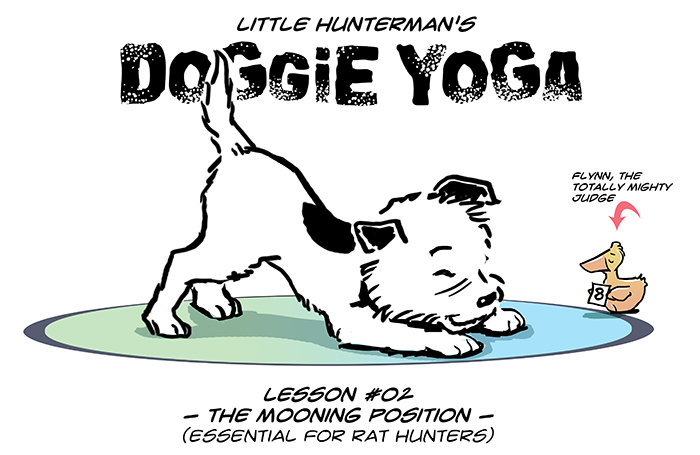 Doggie Yoga #02 – The Mooning Position