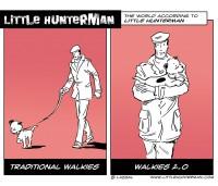 Little Hunterman – Walkies 2.0