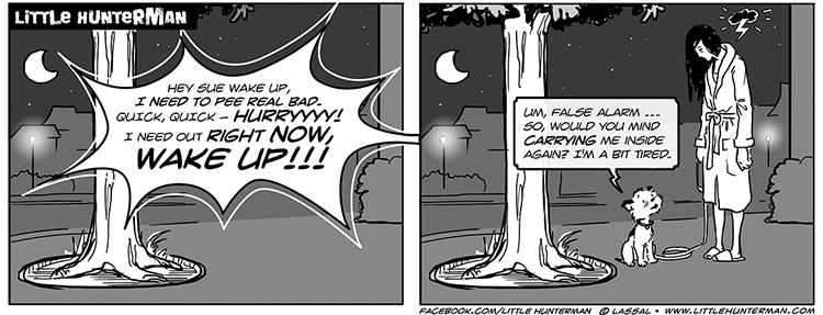 Little Hunterman - False Alarm