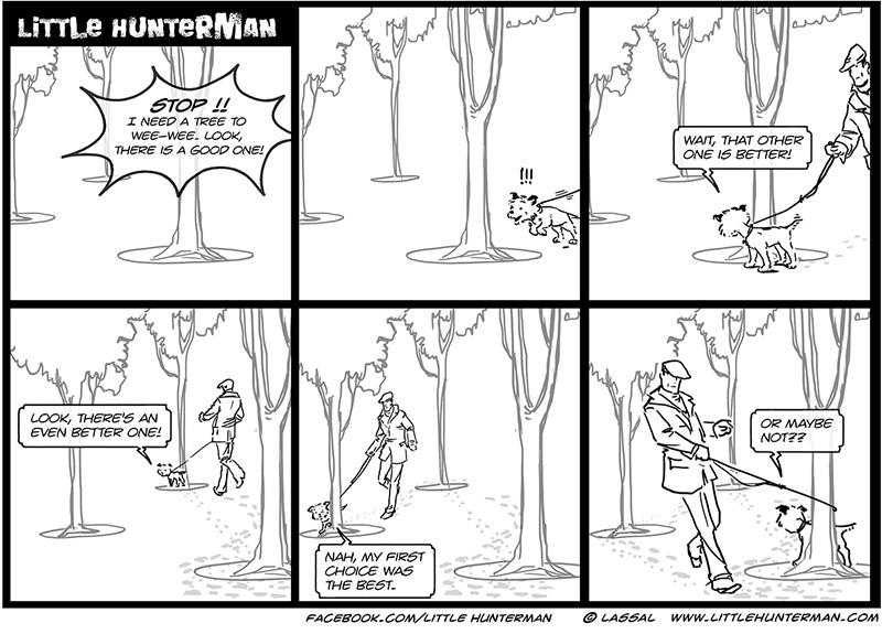 Little Hunterman – The Agony of Choice