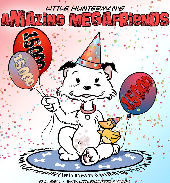 15.000+ Amazing Megafriends (Facebook)