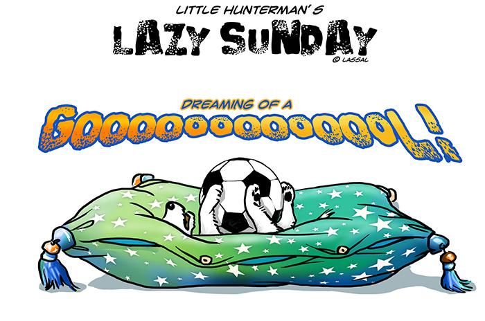 LittleHunterman - Dreaming of a goal