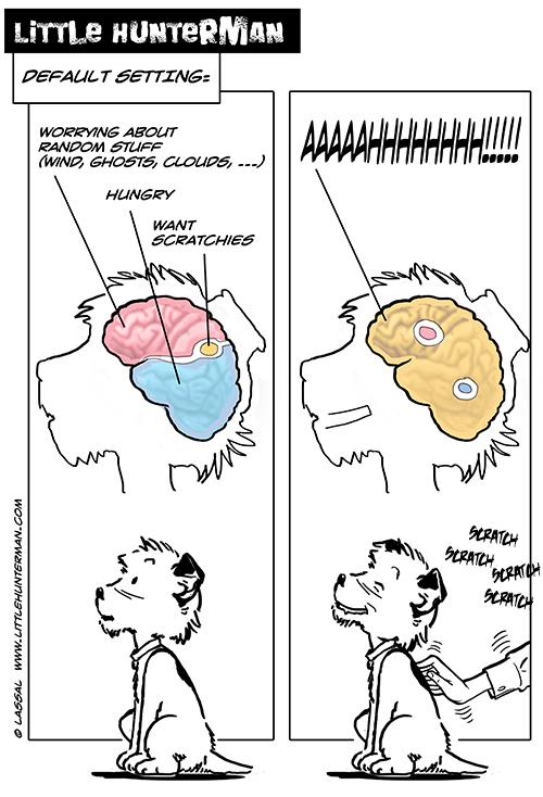 Little Hunterman - brain works