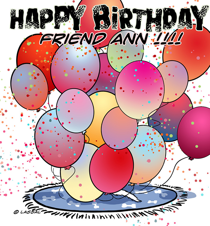 Click to see our balloons for Friend Ann!