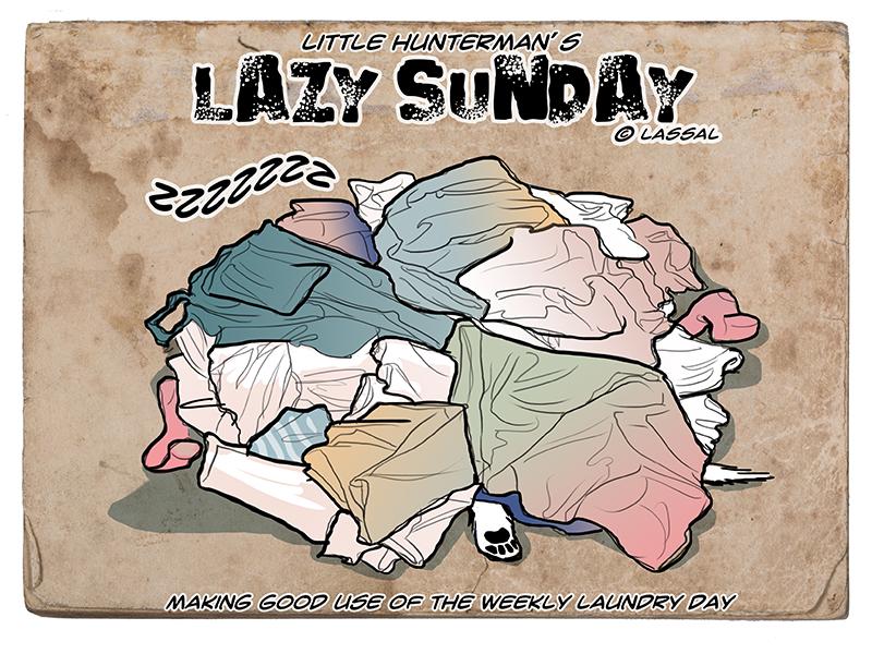 Lazy Sunday Laundry, or something like that.