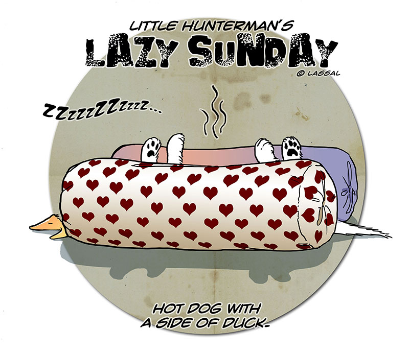 Lazy Sunday – with Hot Dog & Mustard?