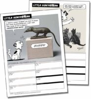 Printable Little Hunterman Calendar Pages
