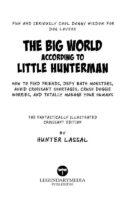 The Big World According to Little Hunterman Page