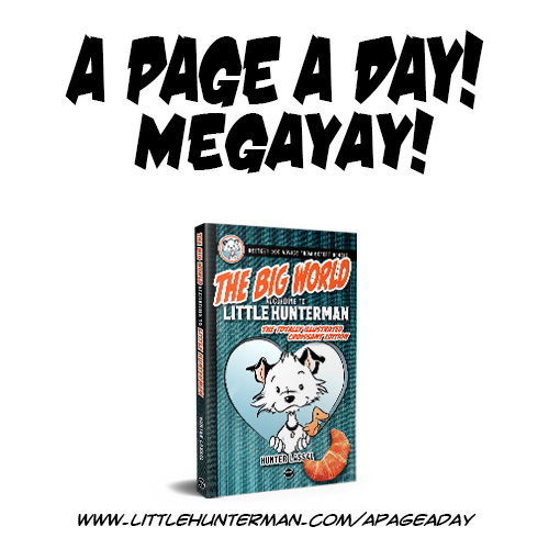 A Page a Day Keeps the Monsters Away.